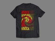 Twist, T-shirt, Knockout, Boxing