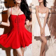 Buy Fashion Clothing - Slim Sexy Lace Short Women's Dress - Casual Dresses - Dresses