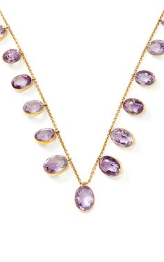 Victorian Amethyst Necklace by Doyle & Doyle, Fall-Winter 2014 (=)