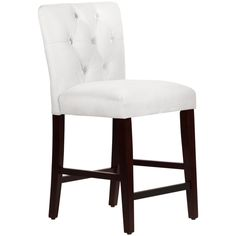 Made to Order Tufted Mor White Counter Stool - Overstock Shopping - Great Deals on Skyline Furniture Bar Stools