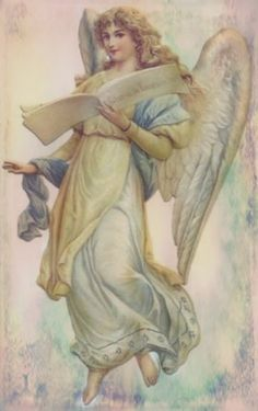 Angel Images Victoriennes, Angel Images, Angel Pictures, Catholic Art, Religious Art, Winter Schnee, Angels Beauty, I Believe In Angels, My Guardian Angel