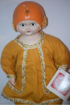 Vintage Doll Strong Museum Sunny Orange Adorable