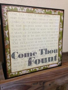 https://www.etsy.com/listing/172310230/12x12-come-thou-fount-wooden-sign?ref=related-4
