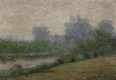 The Athenaeum - Landscape (John Ottis Adams - )