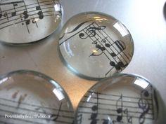 sheet music magnets