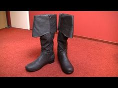 Edward costume (AC4:BF) » boots tutorial - YouTube
