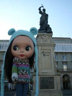 Statue of María Pita (A Coruña) - December 2011