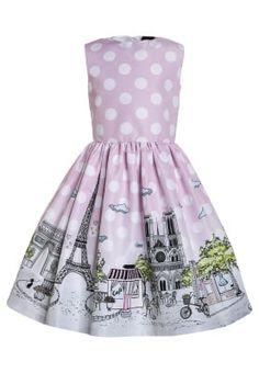 21448ab7c86508 Jurken Love Made Love PARIS - Cocktailjurk - pink Helderrood  289