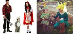 disfraz-familia-coordinados-niño-campanilla-caperucita-lobo-peter pan-cazador.jpg
