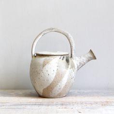 Vintage Ceramic Studio Pottery Teapot by ethanollie on Etsy, $52.00