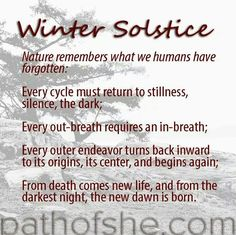 Celebrate winter solstice today with stillness, with going inward. It's time to celebrate this new beginning with letting go of your attachments that no longer serve you and releasing any negativity you hold onto. Winter Solstice Quotes, Winter Solstice Traditions, Happy Winter Solstice, Summer Solstice, Winter Solstice Meaning, Christmas Traditions, Winter Solstice Rituals, Winter Kids, Winter Holidays