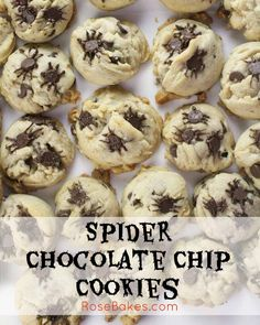 Easy Spider Chocolat