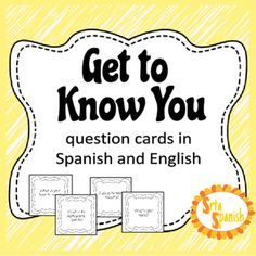 Question cards to help your students start some conversations and practice talking about themselves and their interests at the beginning of the year.There are 24 cards included, as well as a blank template for you to add any of your own (or have students create some!).