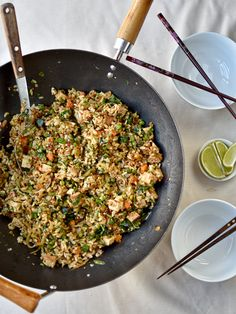 vegan Vietnamese-style fried rice – The Circus Gardener's Kitchen More from my siteJapanese Fried Rice – Yakimeshi – Homemade FavoritesFried rice with peanut butter-coconut milk dressing / vegan, lactose-free – VeganesPage not found Vegetarian Vietnamese, Vegetarian Fried Rice, Rice Recipes Vegan, Vegetarian Recipes Easy, Dairy Free Recipes, Asian Recipes, Healthy Recipes, Vietnamese Food, Fried Rice Recipe Vietnamese