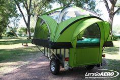 7' Torsion TreeHaus Camper | LittleGiant Trailer | Let's Go Aero