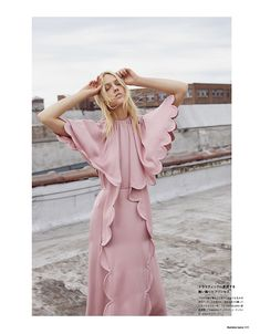 Sasha Pivovarova Models the 2018 Fall/Autumn Collections for Numero Tokyo September 2018