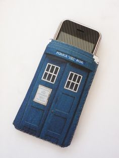 Doctor Who inspired Tardis Police Box iPhone Case by CrankCases, $20.00