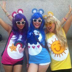 Glücksbärchis Kostüm selber machen | Kostüm Idee zu Karneval, Halloween & Fasching