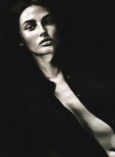 Bridget Hall for Gucci, 1998 Bridget Hall, Original Supermodels, World, Gucci, Vogue, Portraits, Couture, Head Shots, The World