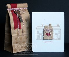 Holiday Home for a new home with love ~ Cindy Schuster