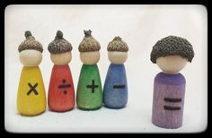 Math Processes // Math Gnomes // In Stock Ready by SimpleGiftsToys, $12.00