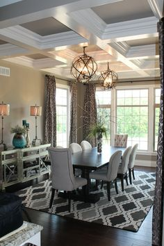 5 Easy Tips To Master Transitional Design Dining Room