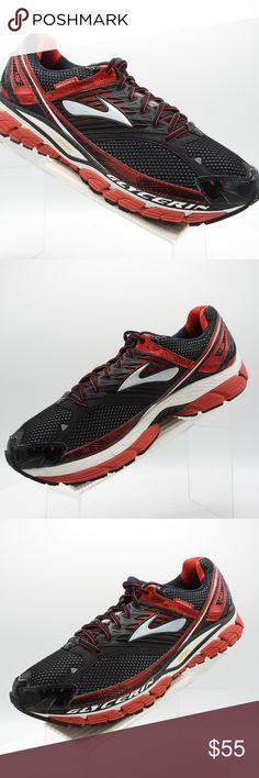 5e6250cf0153 Brooks Glycerin 10 Size 15 Sneakers Mens Shoes Brooks Glycerin 10 Sz 15 2E  Black Red