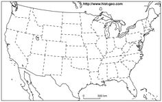 Us States Blank Map (48 States) inside United States Map Template Blank United States Map, U.s. States, Printable Maps, Free Printables, Certificate Of Achievement Template, State Image, Map Outline, Great Lakes Region, Best Templates