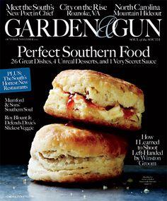 October/November 2012 featuring Blackberry Farm buttermilk biscuits
