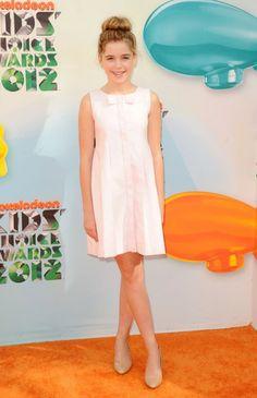 Kiernan Shipka - Nickelodeon's 25th Annual Kids' Choice Awards - Arrivals