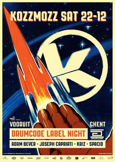 Spacid @ Kozzmozz presents Drumcode Label Night