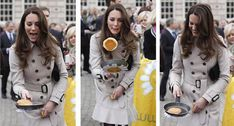 Never has a Scottish pancake looked so good and cooked by Kate, who has reportedly undertaken cookery classes taught by the famous British chef Rachel Khoo, we're sure it tasted delicious!   34 Hilariously Uplifting Photos of Kate Middleton