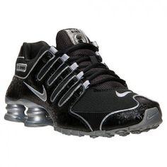 Tênis Nike Shox Women s NZ EU Running Shoes Black Metallic Silver  Tenis   Nike de6209b7e