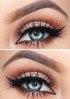 fascinating Cool #makeupjunkie #lip #eyeliner