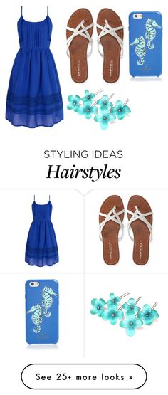 """Summer outfit #1"" by gretchenlover on Polyvore featuring Yumi, Aéropostale and Kate Spade"