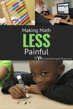 Making Math LESS Painful - what if I told you that your kids could learn math in a much less painful way?!?  What if I said that math could actually become a favorite subject rather than something your kids dread?  Enter Mr. D's Math.