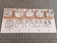 Grading by Memes - Hand carved rubber stamp set for Teach... https://www.amazon.com/dp/B077NGB5L2/ref=cm_sw_r_pi_dp_x_5ZffAbH5HXFAB