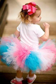 Cotton Candy Couture Super Fluffy Tutu-tutu