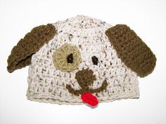 Li'l Puppy Hat/ Baby hat / crochet baby hat / photo by PinkyRoo, ♥ All sizes up to 5T, $15.00 and up.