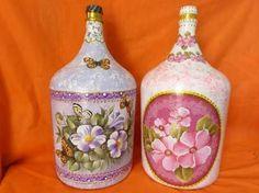 garrafões decorados - Pesquisa Google