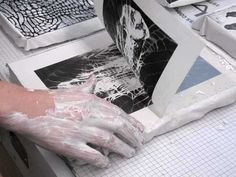 nontoxic paint + print resource | 'Nontoxic' Printmaking & Printing | Safer Painting and Paints