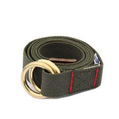 • Olive Webbing Belt