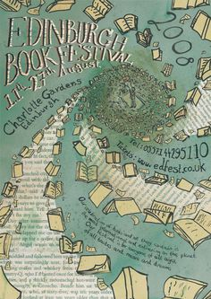 Edinburgh Book Festival Poster