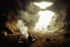 Cave Camping in Iceland. Ph by Christian McLeod x Up Knörth