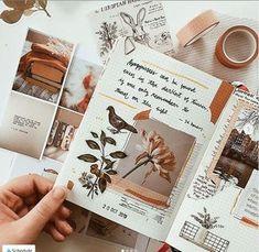 Bullet Journal Writing, Bullet Journal Ideas Pages, Art Journal Pages, Art Journaling, Tumblr Scrapbook, Scrapbook Journal, Bujo, Art Journal Inspiration, Creative Inspiration