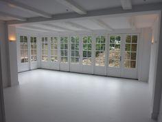 Interieur tuinkamer in souterrain