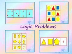 Logic Problems - Numerical, Visual- Spatial Logic- Interactive slide showThis is a 45 slide PowerPoint presentation. This is a super fun and interactive slide show. When you click, the answer appears.Logic strategies to a variety of problem-solving activities that call for deductive,  inductive, convergent, and divergent thinking.- Numerical, Verbal and Visual-Spatial Logic I've given you 3 slides to look at in the Download Preview…