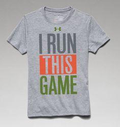 Boys' UA I Run This Game T-Shirt