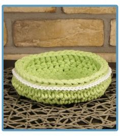 ręcznie robiony koszyk koryna handmade ze sznurka bawełnianego