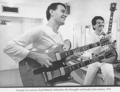 John McLaughlin (Mahavishnu Orchestra) & Carlos Santana